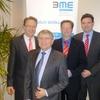 BME Regionsvorstand: Klaus Müssenich, Heinz Satzek, Prof. Elmar Bräkling, Christian Satzek